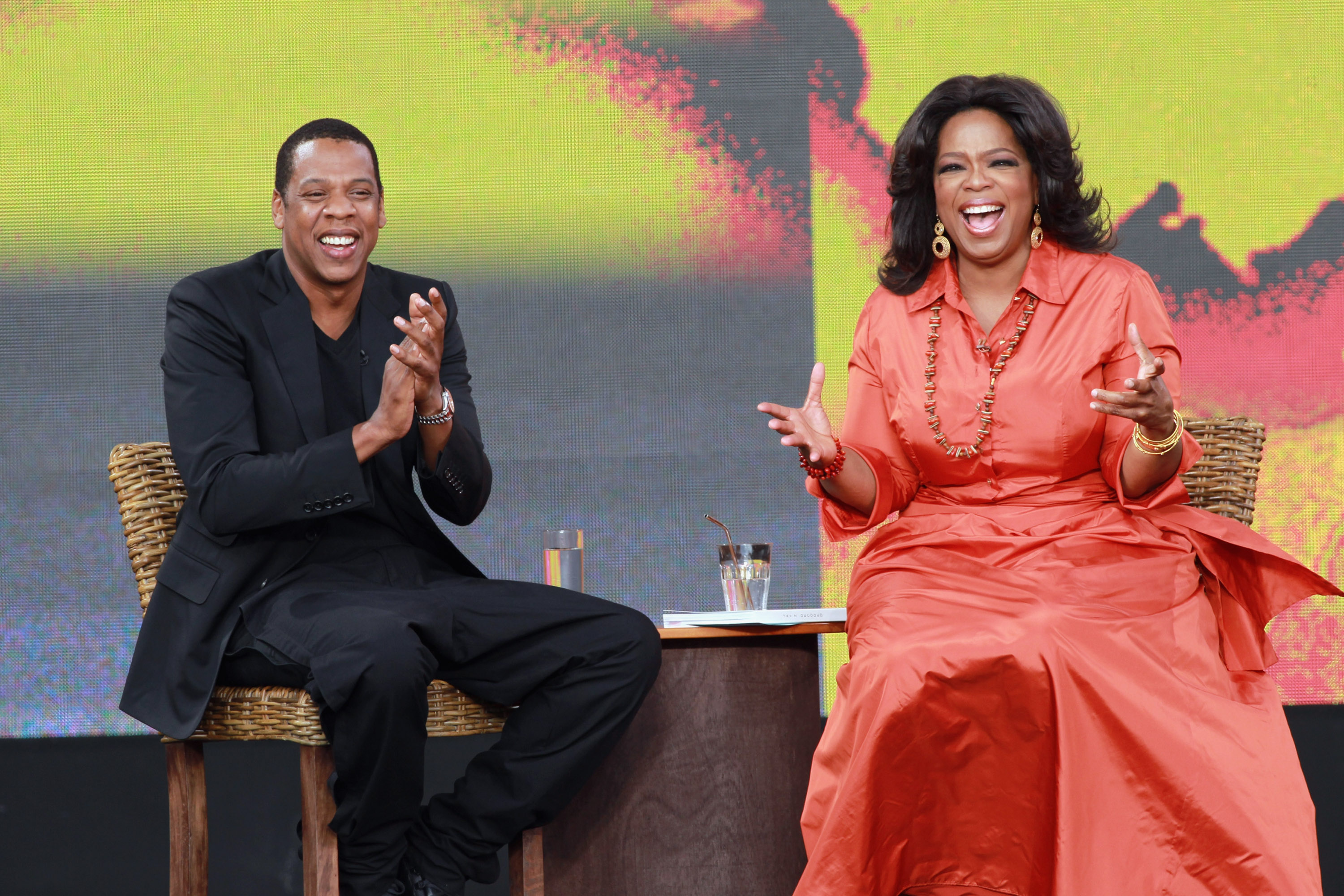 You get to be Jay-Z, we get to be Oprah. #winwin